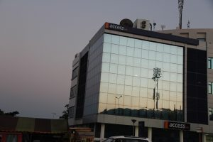 Access bank office tint